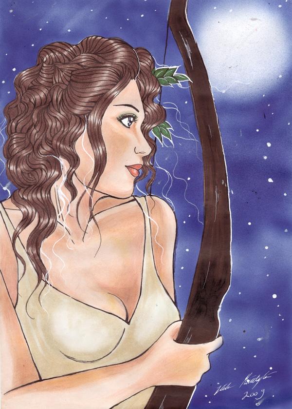 Artemis by Hele-san