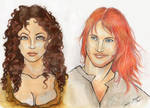 Jamie and Claire WIP