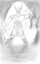 Beawulf et Grendel .