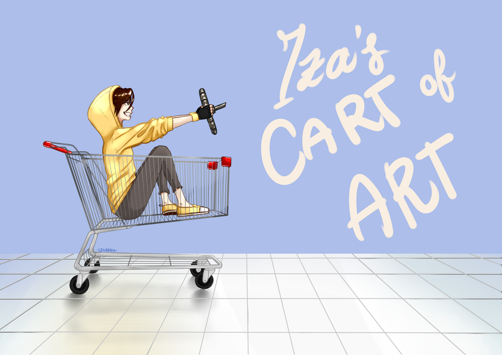 Iza's Art Cart by Cerilean