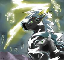 First lightning by studiovairi