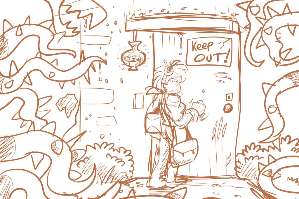 Character assignment: Environment 3 by lizard-keys