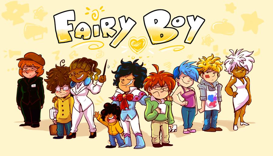 Fairy Boy Characters by IrieVairi