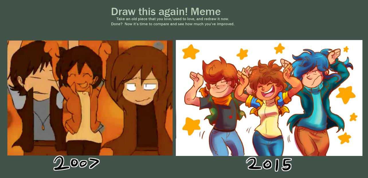 Draw it Again Meme- Caramelldansen by verna-c