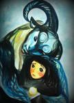 Ofelia y el fauno by sweetsourcherry