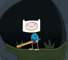 Poptropica Finn the human with bunny hat by poodle89