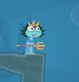 Poptropica Sea Goddess