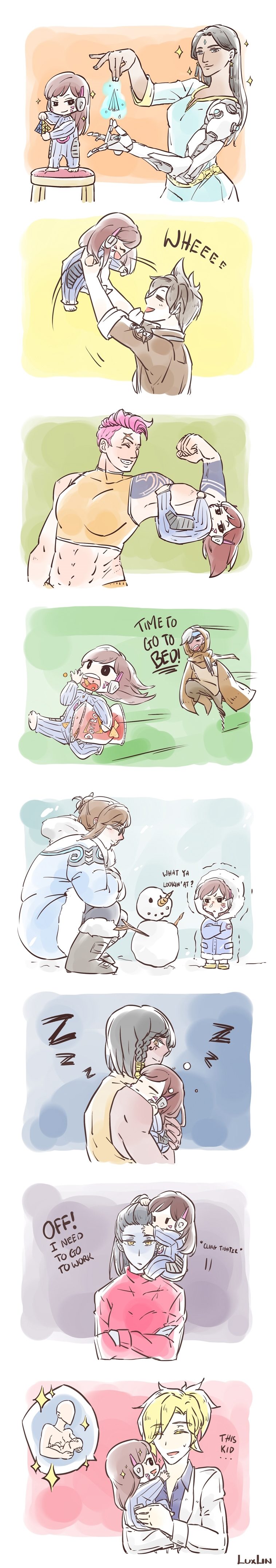 When dad 76 is away... by Shocolad