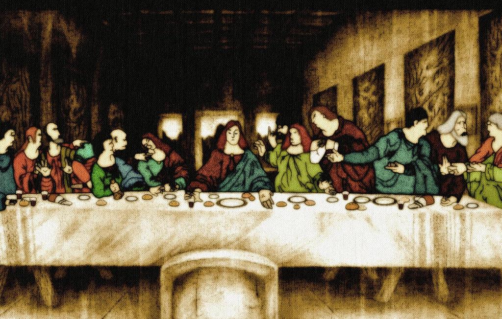 The Last Supper - Da Vinci by Felipe2p on deviantART Da Vinci Last Supper High Resolution