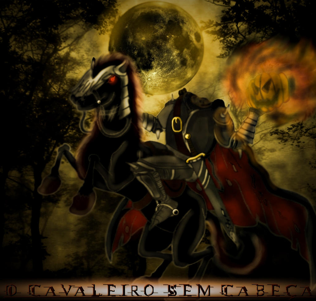 the headless horseman The headless horseman appears in many stories from european folklore in america, the image was popularized by washington irving's short story the legend of sleepy hollow.