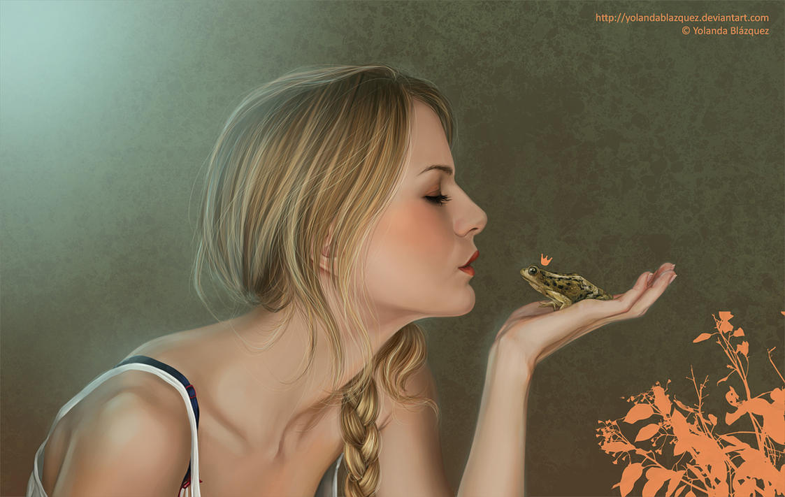 frog prince by YolandaBlazquez