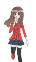 Draw color girl by KuroeSabaru