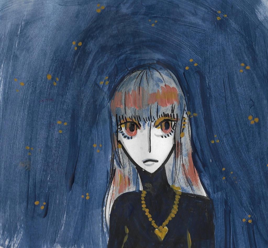 a blue feeling by iiyalovestobite