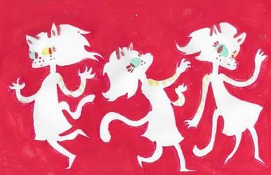 red cat by iiyalovestobite