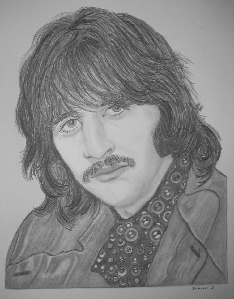 Ringo Starr by donna-j
