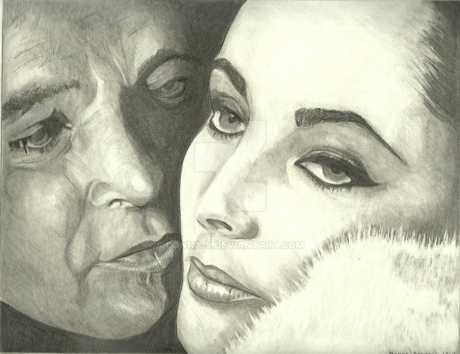 Liz Taylor + Richard Burton by donna-j