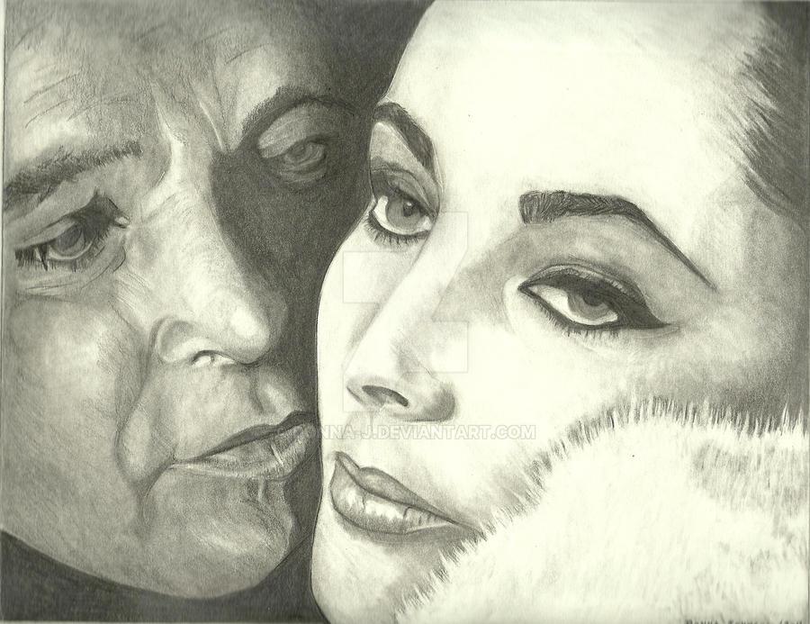 Liz Taylor + Richard Burton by donna-j