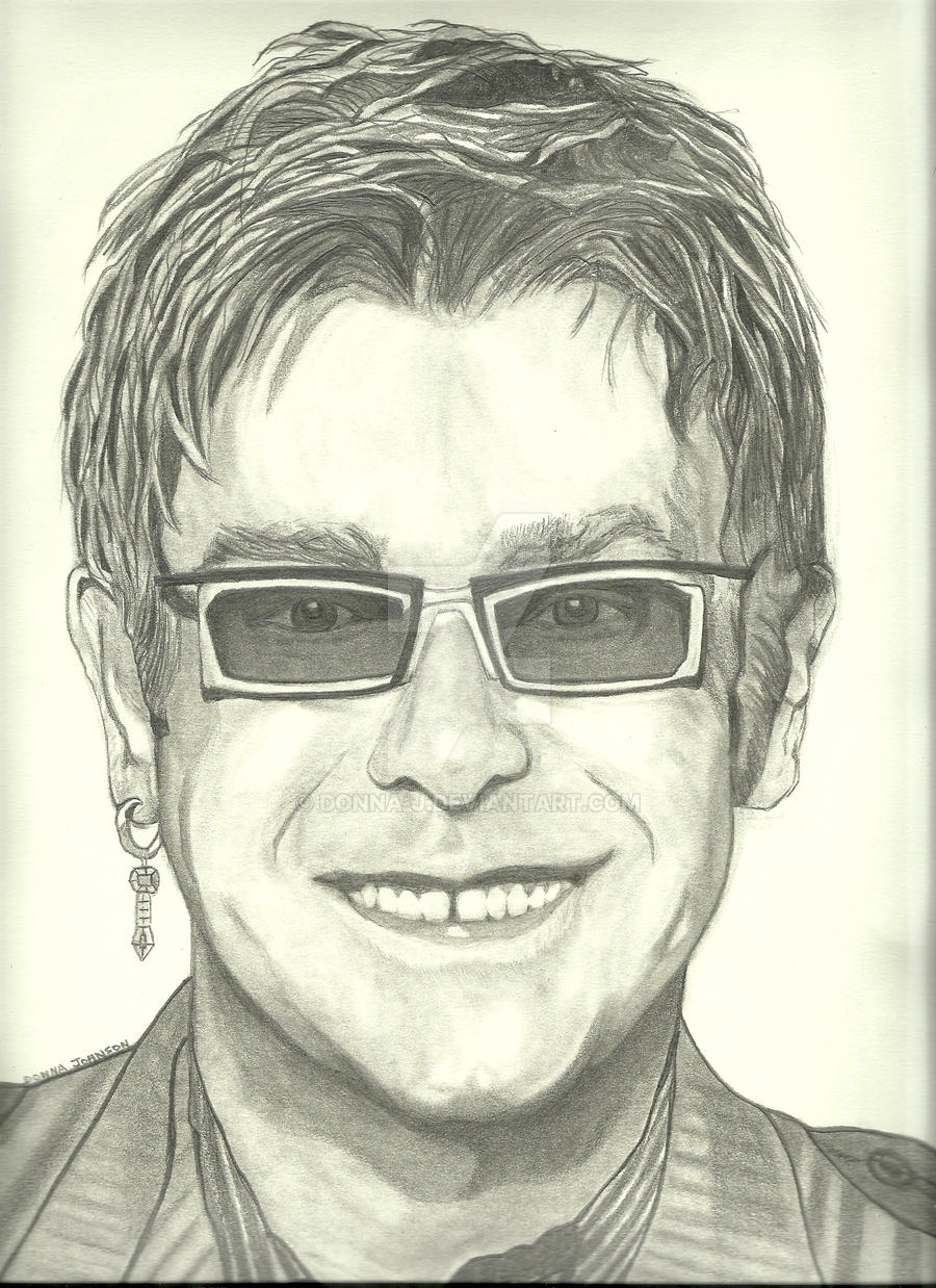 Elton John 3 by donna-j
