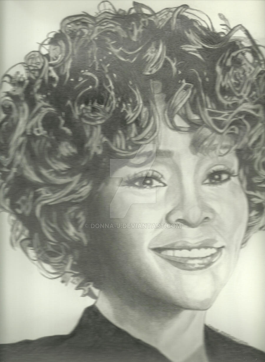 Whitney Houston by donna-j