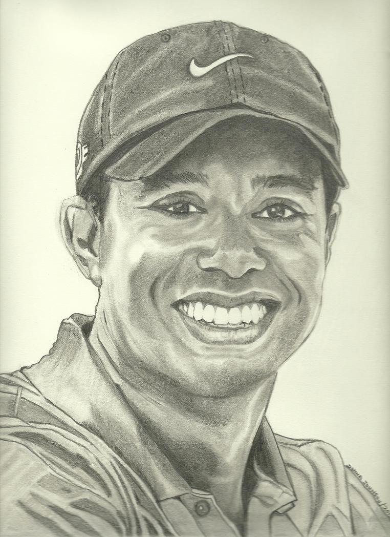 Tiger Woods By Donna-j On DeviantArt