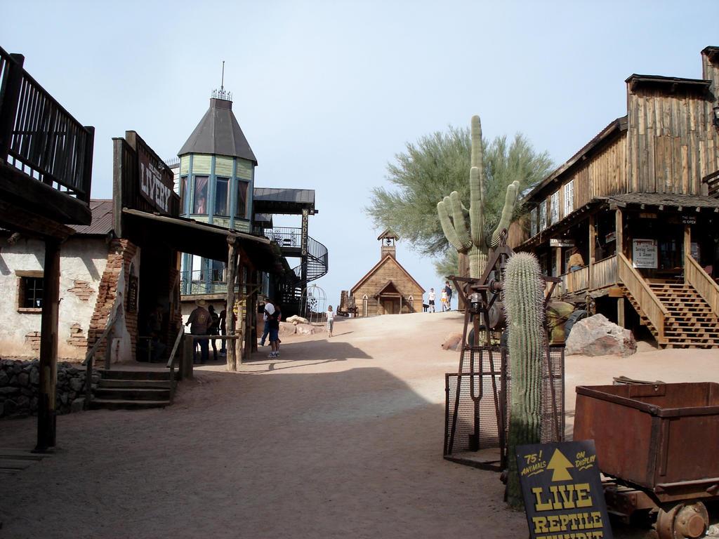 Goldfield Ghost Town Near Tortilla Flats Arizona by donna-j