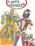 MK9 Scorpion, Mileena, Teddie?