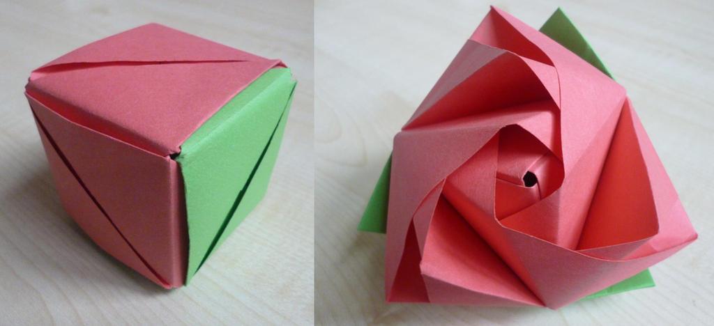 magic rose cube by ilyere on deviantart