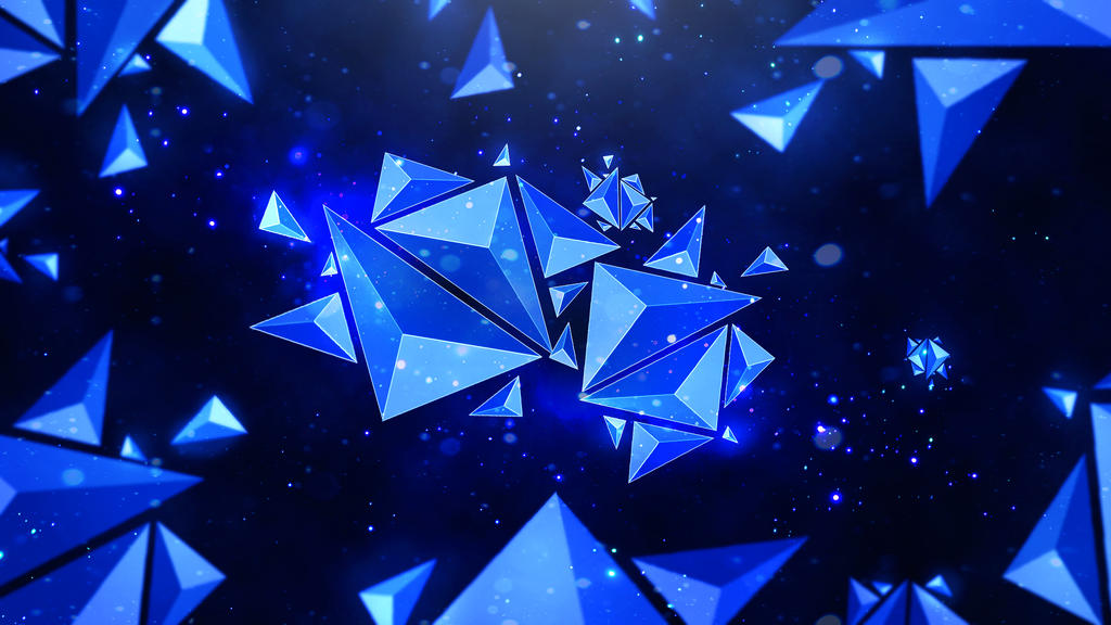 top polygon wallpaper abstract - photo #7