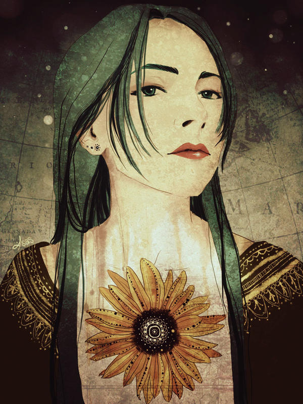 Sunflower by isanohohoemi