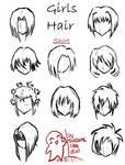 Hair styles for girls -short-