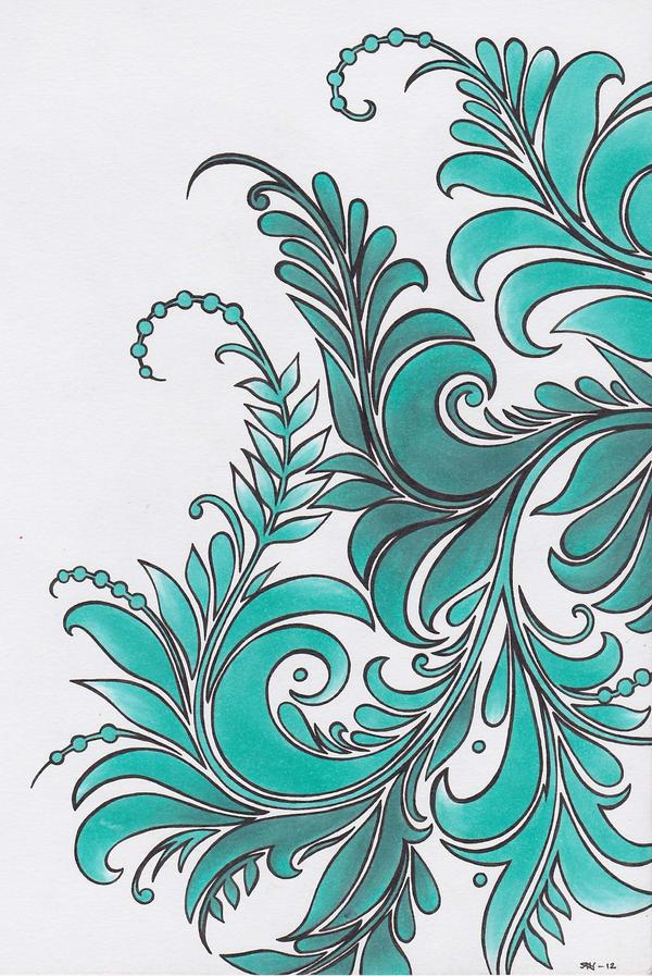 Turquoise by Shiridanya