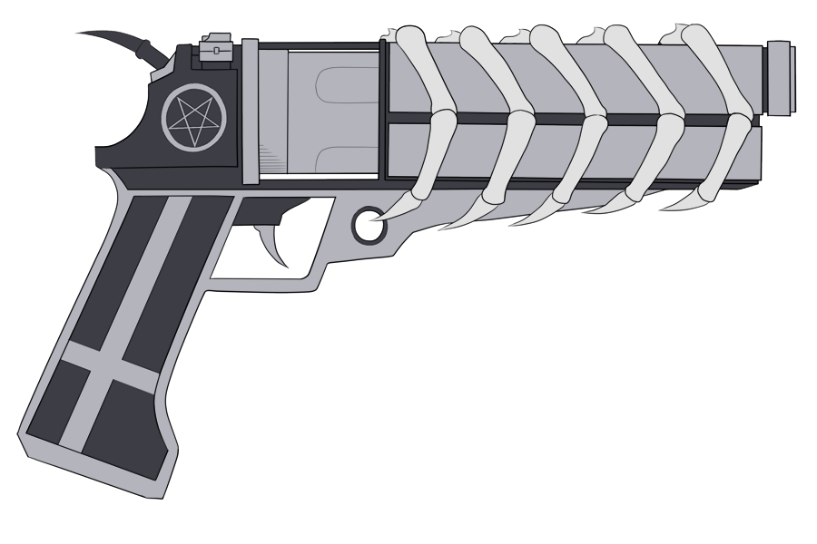 Pattrick's Demon Gun by pyrogina