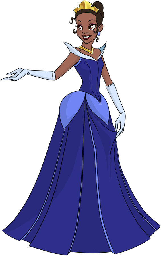 Disney Princess Tiana by pyrogina