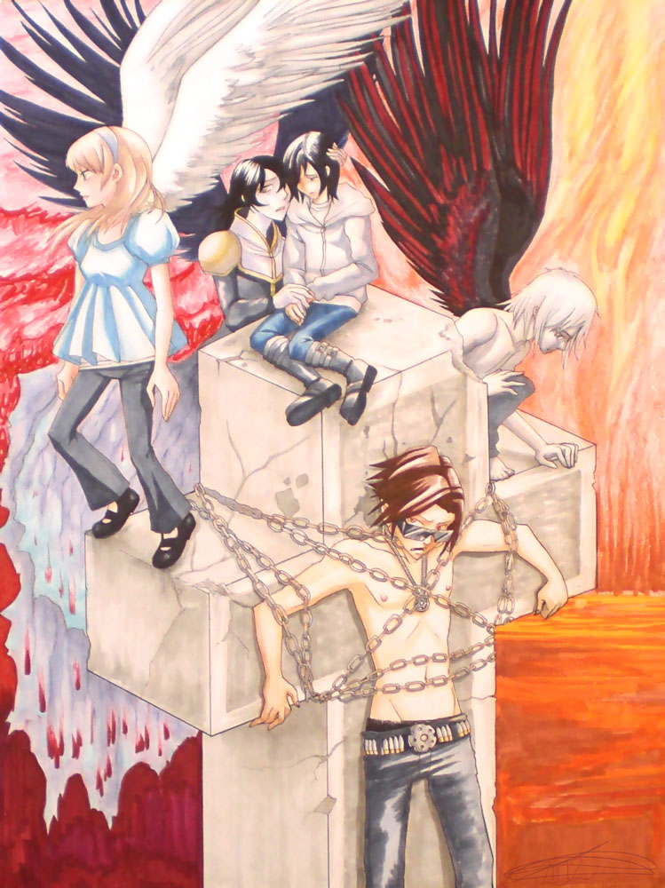 Ars Goetia Manga Cover by pyrogina