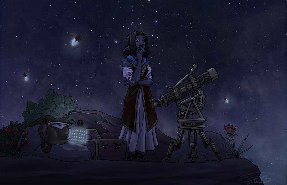 Stargazing by pyrogina
