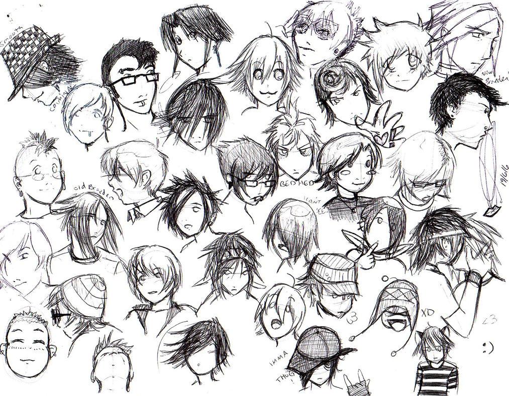 a page of emo boys by pyrogina on DeviantArt