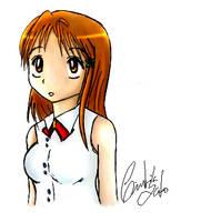 Inoue Orihime by tesumii