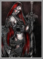 The daughter of Lucifer by liquid999