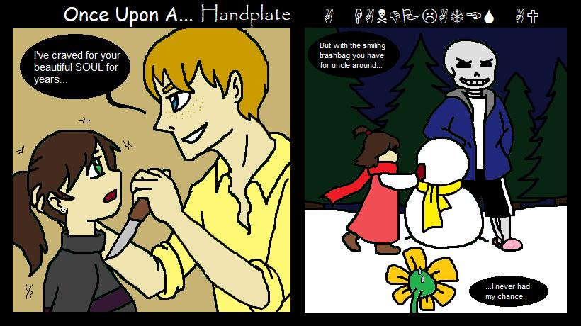 Once Upon A Handplate: a deleted scene by MissJulyFarraday