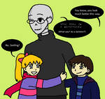 Once Upon A Handplate: Gaster and the twins