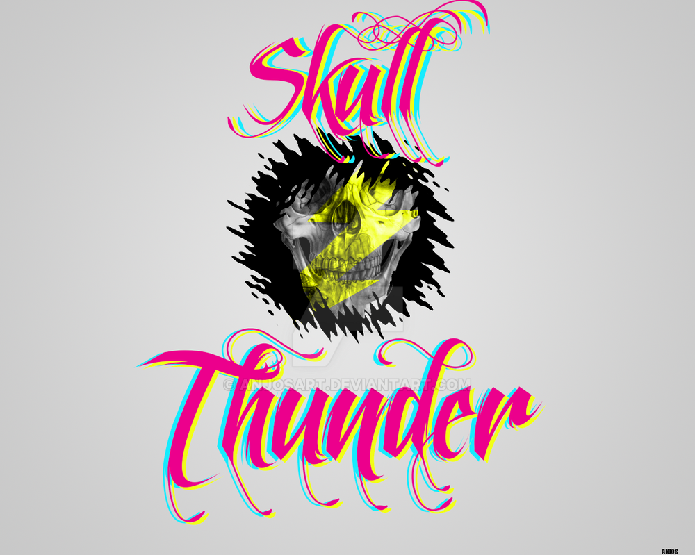 Skull Thunder by AnjosArt
