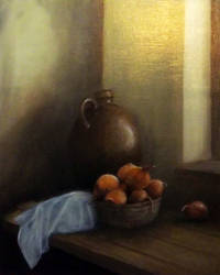 study on a work by Lubov Pozmogova-Brosens by faxstaff
