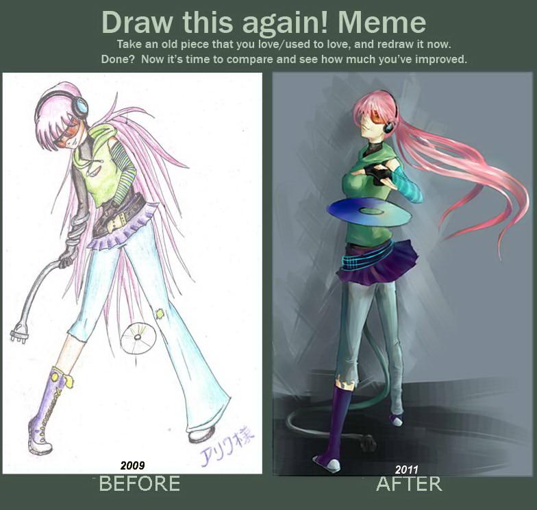 Draw this again meme by Arriva-sama