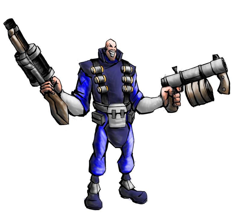 I am Heavy Demo Guy by dalubnie