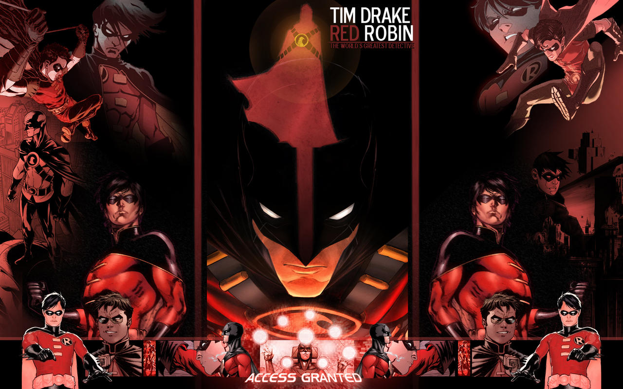 tim drake wallpaper - photo #15