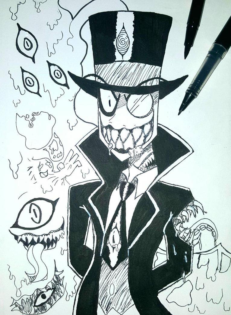 Villainctober Day 1: Fav Character!! by kittystarscream