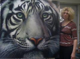 White Tiger by Raipun