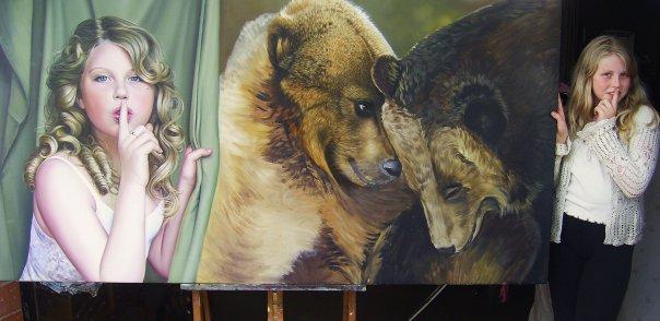 Original size Bears, WIP by Raipun