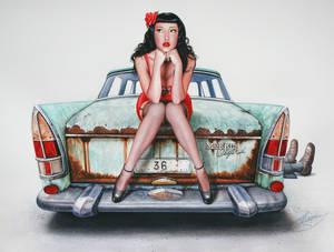 The Mechanic's girlfriend