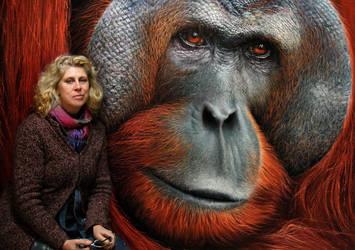 Me and my funky monkey by Raipun